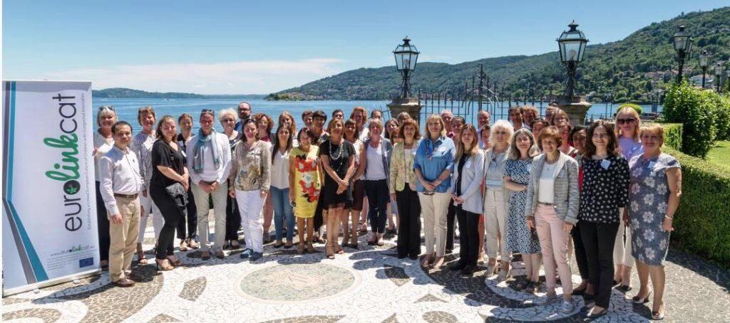 Група представників реєстрів, які беруть участь в реалізації проєкту EUROlinkCAT